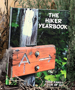 Hiker Yearbook Cover Find Appalachian trail hikers
