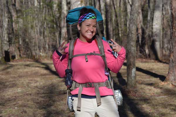 Appalachian Trail Hiker Ninja