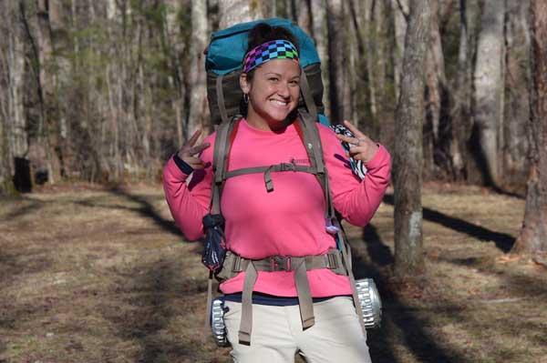 Appalachian Trail Hiker Ninja