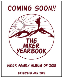 2018 Hiker Yearbook