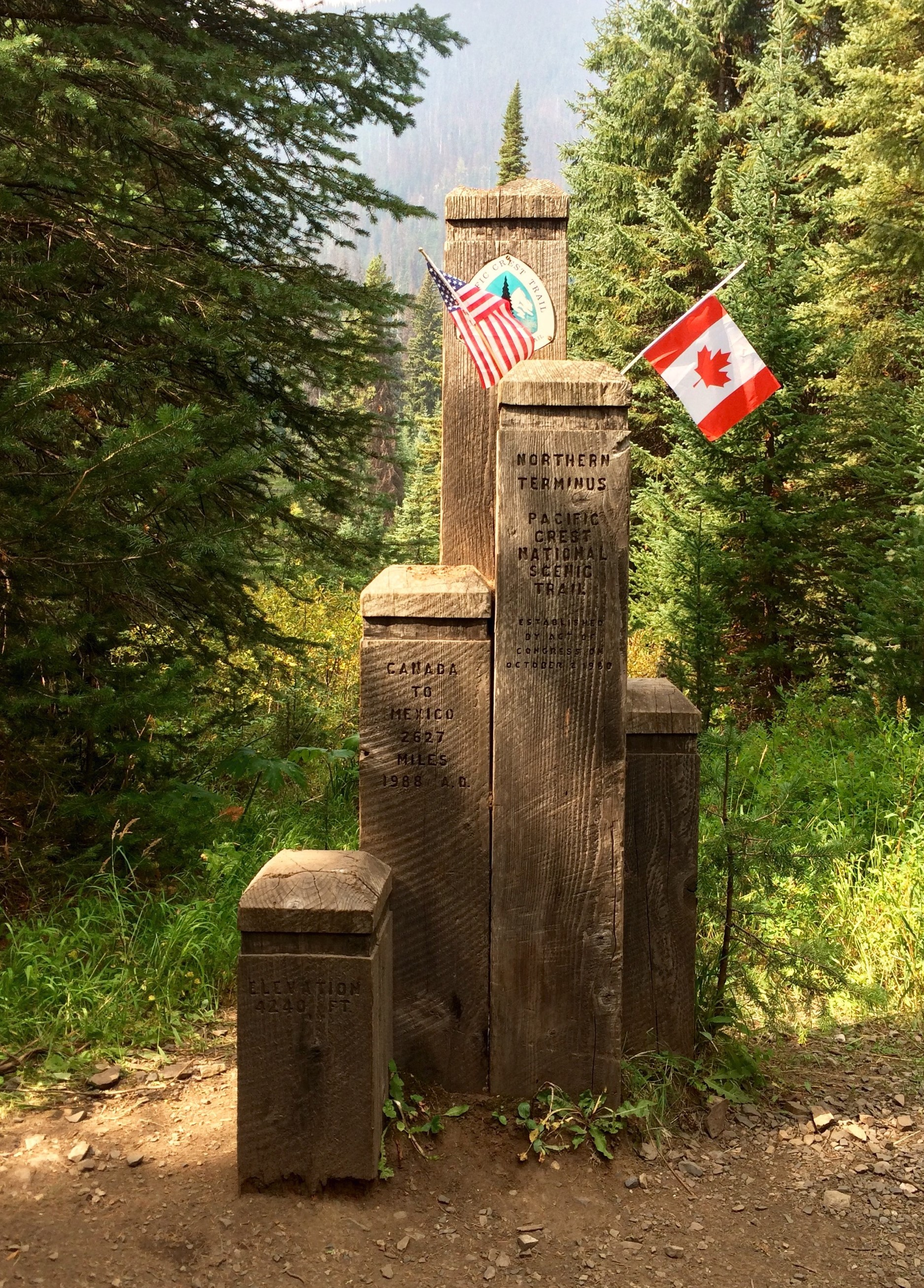 Submit your Monument photo to be in the Hiker Yearbook